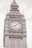 Big Ben Clock, Westminster, London, Royalty Free Stock Photography