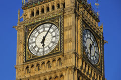 Big Ben clockface Stock Photography