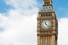 Big Ben Clocktower Stock Image