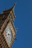 Big Ben close-up. Clos-up of Big Ben clock tower with space for text Royalty Free Stock Photos