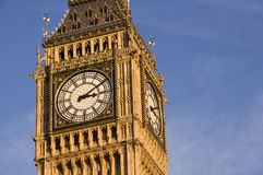 Big Ben close up Royalty Free Stock Images