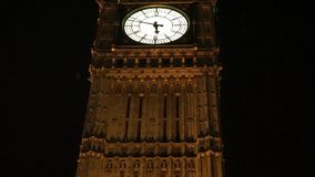 Big Ben, close up, at night