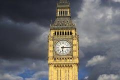 Big Ben, closed up, at sunset Stock Image