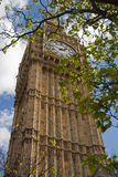 Big Ben with clouds Stock Image