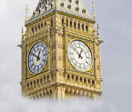 Big Ben in a cloudy day Stock Photography