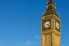 Big Ben with Copyspace on the Left Stock Photo
