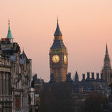 Big Ben at Dawn Stock Photo