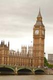 Big Ben in de middag Stock Afbeelding