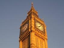 Big Ben an der Dämmerung Stockfoto