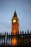 Big Ben an der Dämmerung lizenzfreies stockfoto