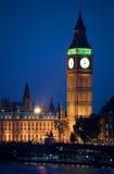 Big Ben an der Dämmerung Stockfotografie