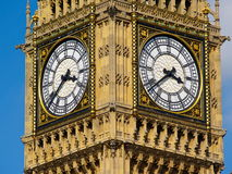 Big Ben Detail. Famous London clock in detail Royalty Free Stock Images