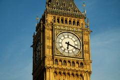 Big Ben in detail. London stock photography