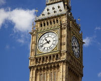 Big Ben Detail Royalty Free Stock Photos