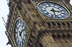 Big Ben detail. Close up Stock Photo