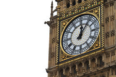 Big Ben Details, London, UK Royalty Free Stock Images