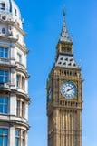 Big Ben di estate, Londra immagini stock libere da diritti