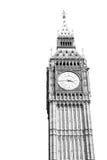 Big Ben di Londra e vecchia città storica dell'Inghilterra della costruzione Fotografia Stock