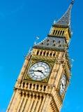 Big Ben di Londra e vecchia città vvvhistorical dell'Inghilterra della costruzione Immagine Stock