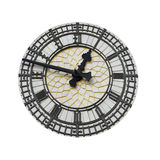 Big Ben Dial. Isolated dial of the Westminster Tower clock stock photography