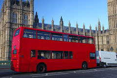 Big Ben with double decker, London Royalty Free Stock Photos
