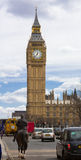 Big Ben From Down the Street Stock Image