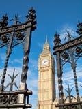 Big Ben durch offenes Tor Lizenzfreie Stockfotografie