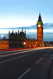 Big Ben dusk Stock Photos