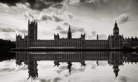 Big Ben e Camere del Parlamento, Londra Immagini Stock