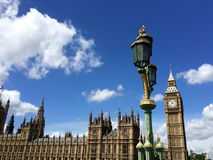 Big Ben e casas do parlamento em Londres, Reino Unido Imagens de Stock