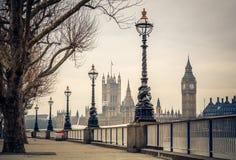 Big Ben e casas do parlamento, Londres Fotos de Stock Royalty Free