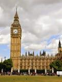 Big Ben e o parlamento britânico Fotografia de Stock