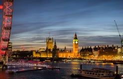 Big Ben e palazzo di Westminster Fotografia Stock Libera da Diritti