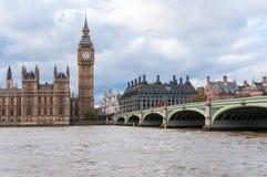 Big Ben e ponte de Westminster em Londres imagem de stock royalty free