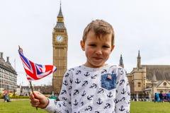 Big Ben e Westminster in primavera Fotografie Stock Libere da Diritti