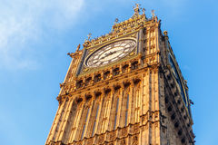 Big Ben in early winter morning. London Royalty Free Stock Photography