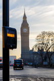Big Ben in early winter morning. London Stock Images