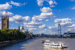 Big Ben ed il palazzo architettura i del ` s di Westminster di bella Fotografia Stock
