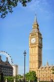 Big Ben - Elizabeth Tower in Londen Royalty-vrije Stock Afbeeldingen