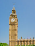 Big Ben or The Elizabeth Tower. In London Royalty Free Stock Image