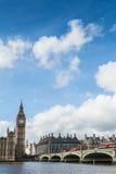 Big Ben en hemel Stock Foto