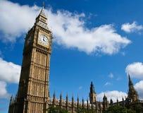 Big Ben en het parlement stock afbeeldingen