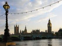 Big Ben en Huis van Parliamen royalty-vrije stock fotografie