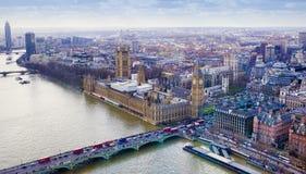 Big Ben en la ciudad de Londres Fotos de archivo