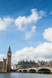 Big Ben et ciel Photo stock