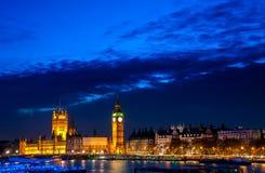 Big Ben et Minster occidental Photos stock