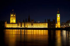 Big Ben in the evening Stock Photos