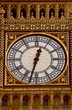 Big Ben face clock Stock Photos