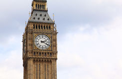 Big Ben is a famous English clock chimes Royalty Free Stock Images