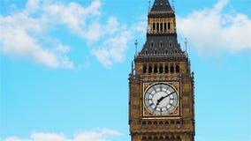 Big Ben, fermé, au coucher du soleil clips vidéos